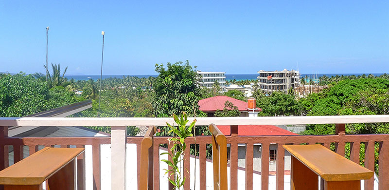 Provides a 360-degree view of BOTH White Beach and Bulabog Beach