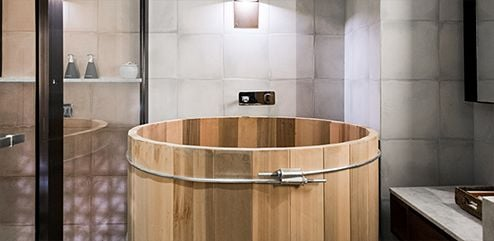 Bisma Eight goemon soaking tub