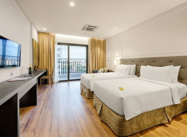 Danang Golden Bay Hotel Superior Room Twin Single Beds