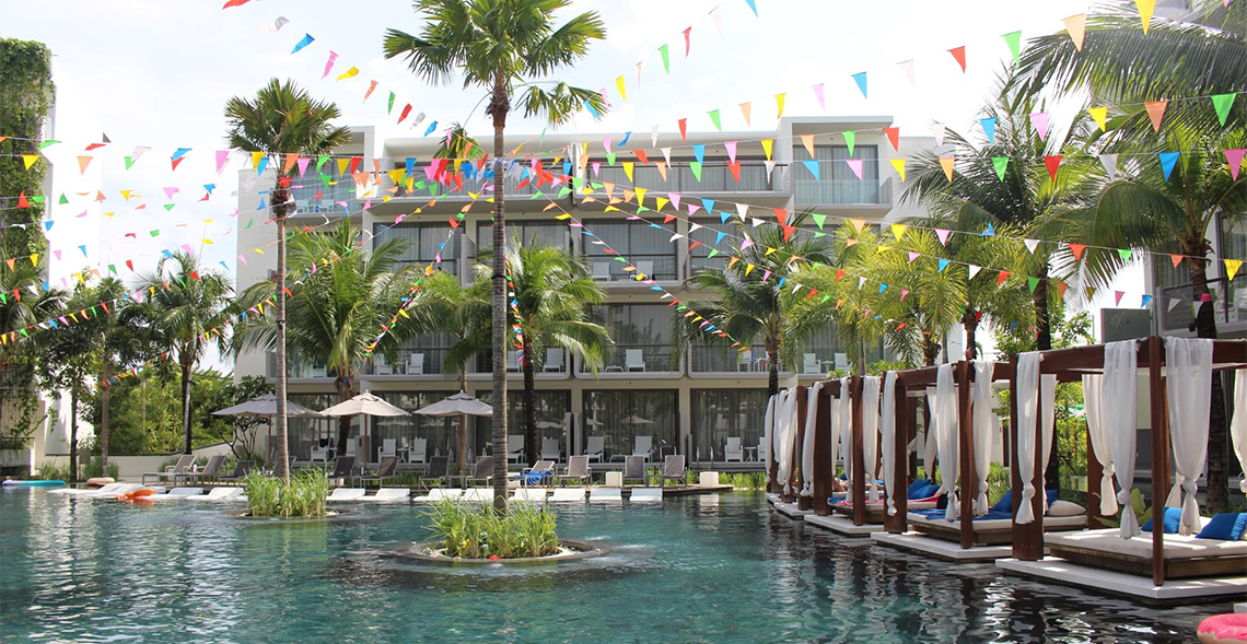 Dream Phuket Hotel & Spa Main Pool