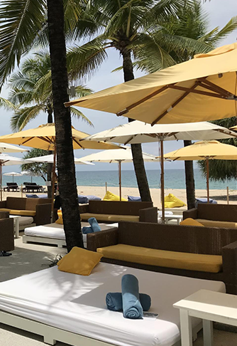 Dream Beach Club Poolside Bar and Poolside Cabanas