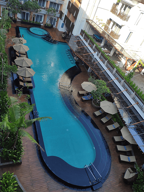 Fairfield Kuta Sunset Road Swimming Pool