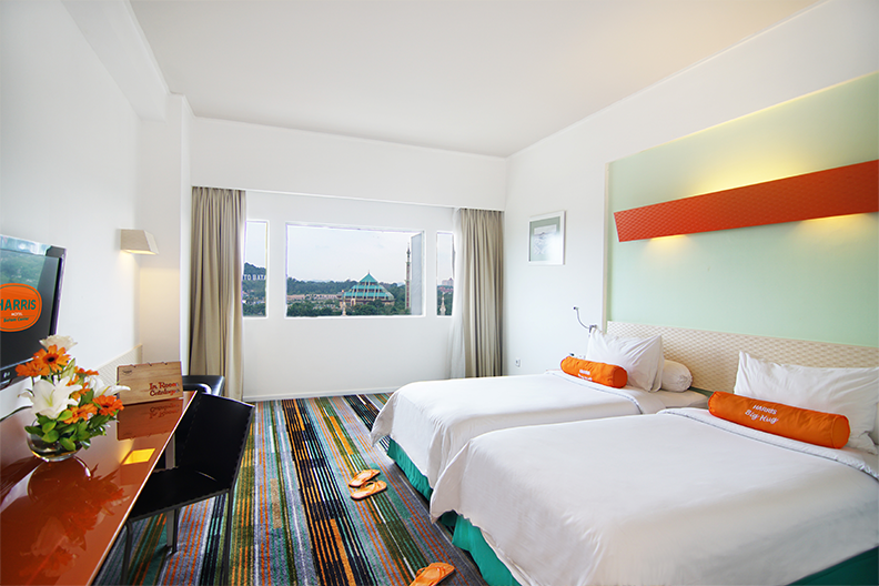 Harris Hotel Batam Center Harris Twin Bed room
