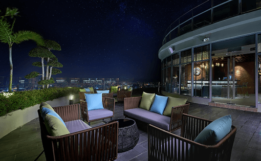 Hatten Place Melaka  Sky Deck Night View