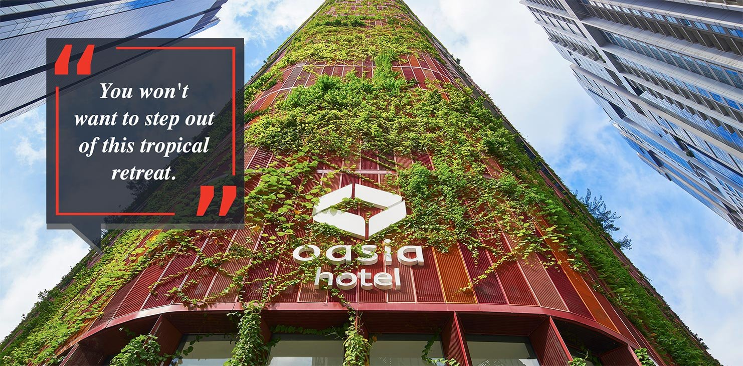 Oasia Hotel Downtown Hotel Review: Our Stay Experience and