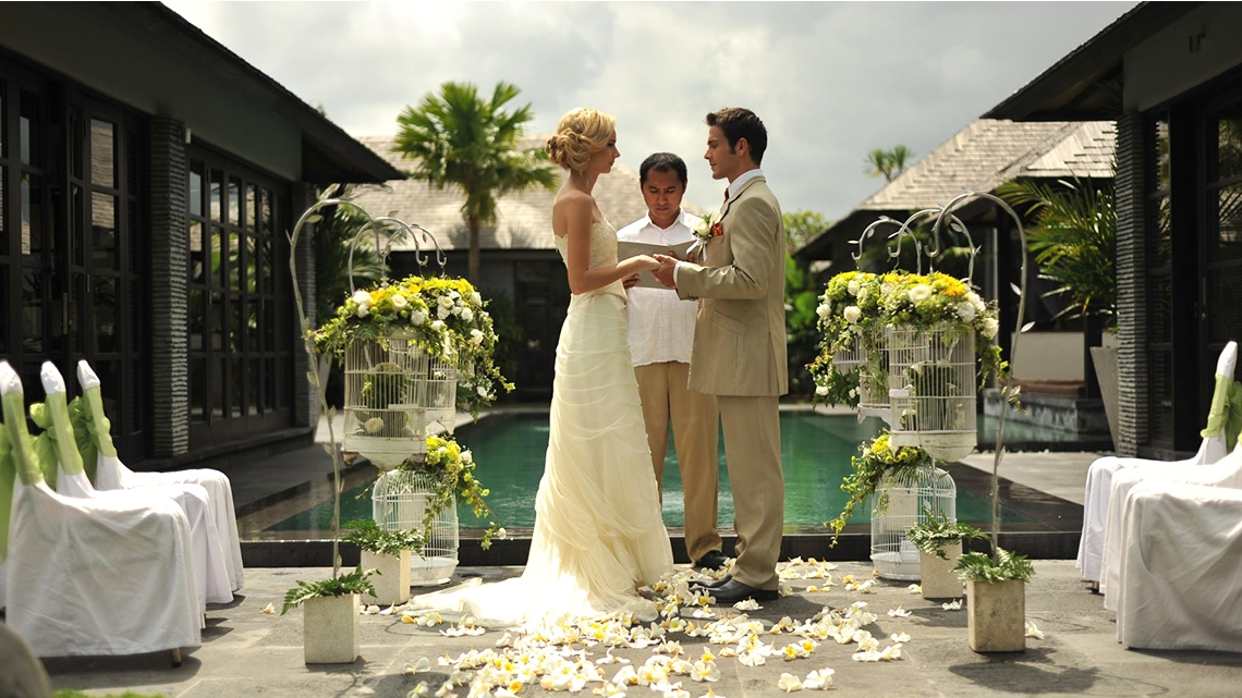 Peppers Seminyak Wedding