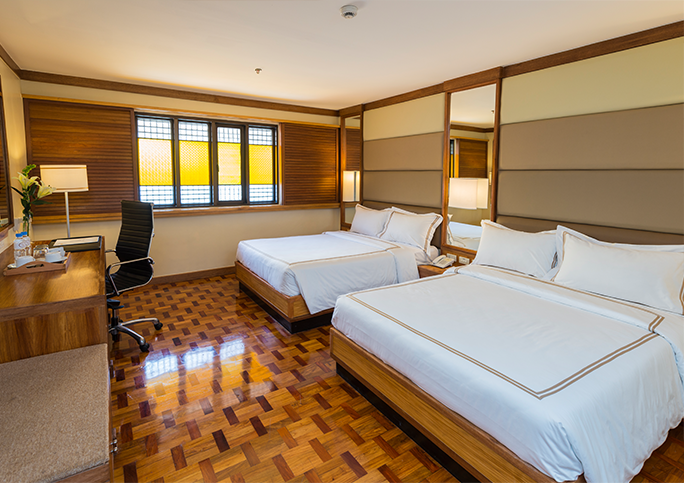 The Legend Villas Deluxe Room