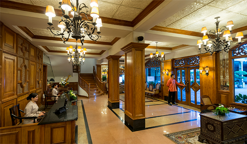 The Legend Villas lobby