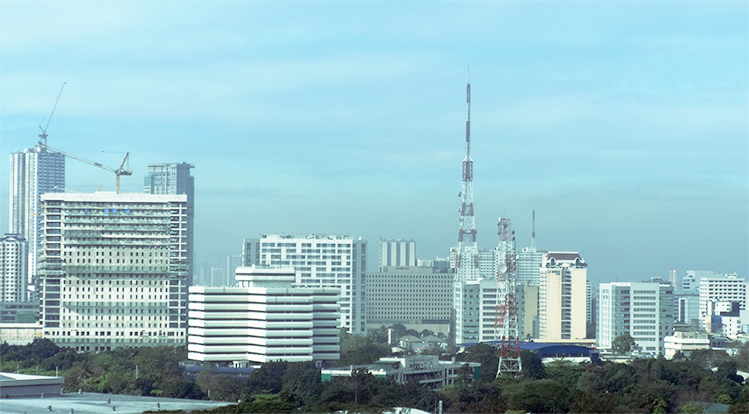 Quezon City view