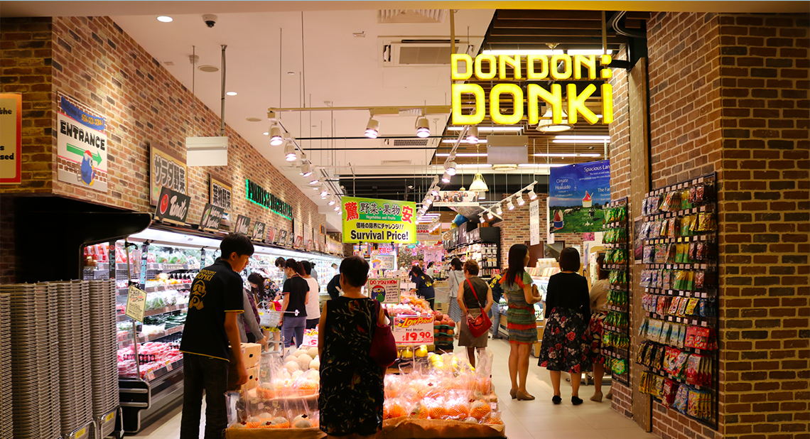 Orchard Gateway, Orchard Central, Don Don Donki, The Cathay