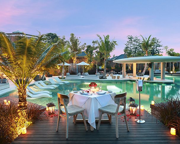 X2 Bali Breakers Romantic Dinner